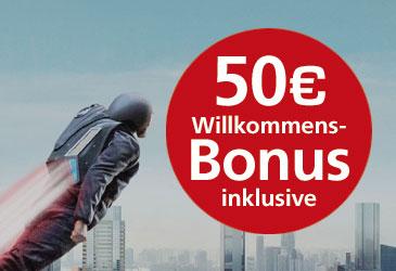 Vodafone 50,- € Willkommensbonus