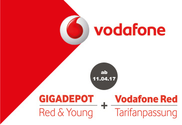 Vodafone Red and Young