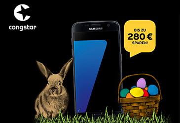 congstar Osterspecial: Samsung Galaxy S7 für nur 15,- €/Monat!
