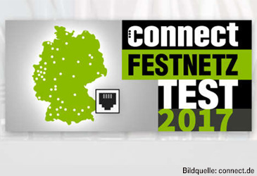 connect Netztest 2017: 1&1 knapp vor der Telekom