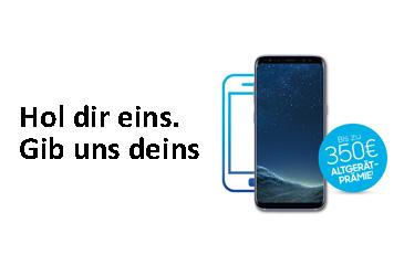 """Neue Samsung Aktion: """"Hol Dir eins. Gib uns Deins"""""""