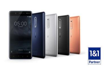 Nokia 5 und Sony Xperia XA1 neu im Geräteportfolio