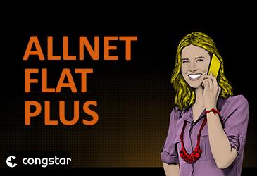 congstar Allnet Flat Plus zum reduzierten Preis!