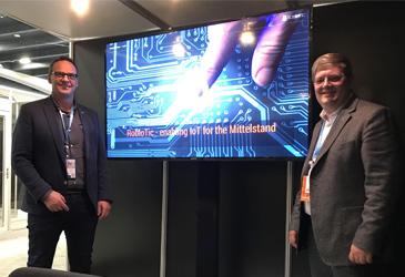 TK-World Joint-Venture ROBIoTIC präsentiert in San Francisco