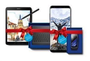 Samsung-Wunschzettel: Smartphones oder Tablet bestellen und Gear Fit2 oder Book Cover kostenlos sichern