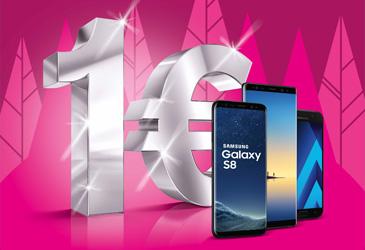 MagentaMobil: Alle Samsung Smartphones ab 1,- €
