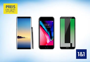 1&1 All-Net-Flats: Reduzierte Smartphone-Preise!