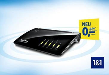 1&1 HomeServer Speed+ für 0,- € und digitales Fernsehen über die 1&1 TV-Box