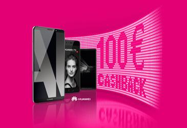 Telekom: 100,- € Cashback für Huawei Smartphones und Family Card Push