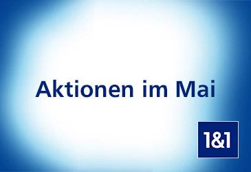 1&1 Aktionen im Mai: 100,- € DSL Wechsler-Bonus und Mobilfunk-Startguthaben von bis zu 40,- €