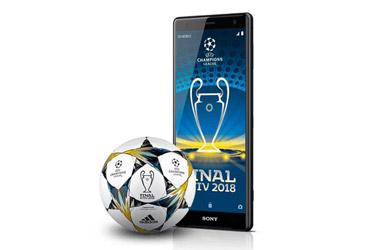 Sony Xperia XZ2 bei 1&1: VIP-Reise zum Champions League Finale für Ihre Kunden