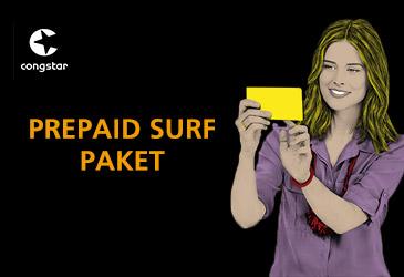 Ab sofort verbessert: congstar Prepaid-Tarif Surf