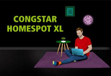 DSL-Alternative von congstar: Homespot XL mit 100 GB Datenvolumen