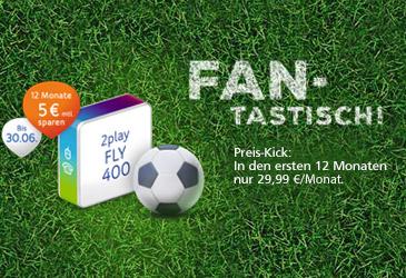 FANTASTISCH! Unitymedia 2play FLY 400 zum Sparpreis von 29,99 €