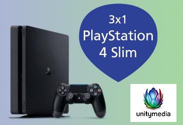 TK-World Aktion zum Vatertag: Erfolgreich Unitymedia vermarkten und 3x1 PlayStation 4 Slim gewinnen