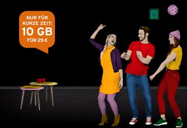 congstar Allnet Flat Tarife jetzt mit bis zu 10 GB!
