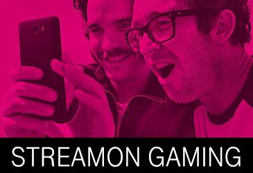 StreamOn Gaming: Kein Verbrauch des Datenvolumens beim mobilen Spielen