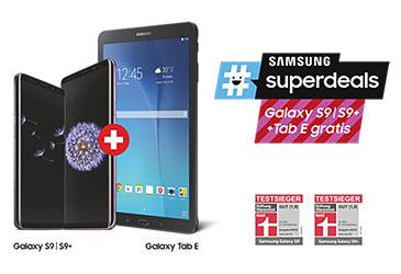 Kostenloses Tablet zum Samsung Galaxy S9/S9+