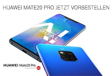 Neues Huawei Mate20 Pro vorbestellen und Amazon Echo Show gratis dazu erhalten
