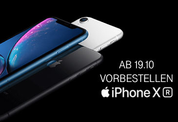 iPhone XR ab dem 19.10. vorbestellen