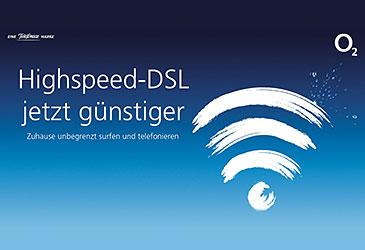 Neues o2 DSL-Portfoliio