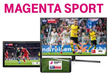 Neu: Telekom Sport heißt ab sofort MagentaSport