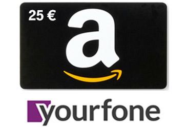 Amazon Gutscheine mit erfolgreicher yourfone Vermarktung sichern