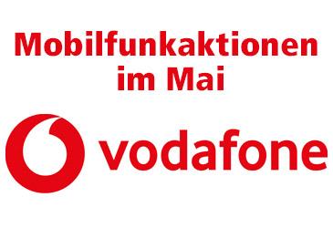 Verlängerte Vodafone Mobilfunkaktionen bis Ende Mai