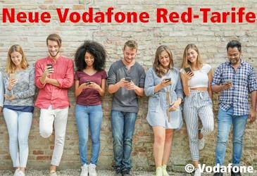 Vodafone Red 2019: Neue Tarife für Ihre Mobilfunkkunden