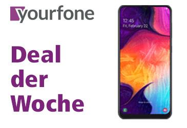 yourfone Deal der Woche: Samsung Galaxy A50 + 1 LTE GB