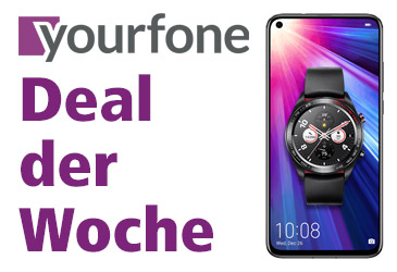 yourfone Deal der Woche: Honor View20