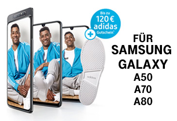 Bis zu 120,- € adidas Gutschein für Samsung Smartphones