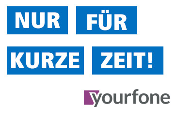 yourfone Top-Tarife um 2,- €/Monat reduziert