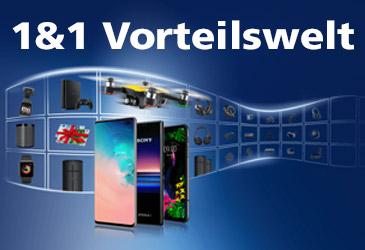 1&1 All-Net-Flat mit 120,-€ Preisvorteil oder Smartphone-Gadget