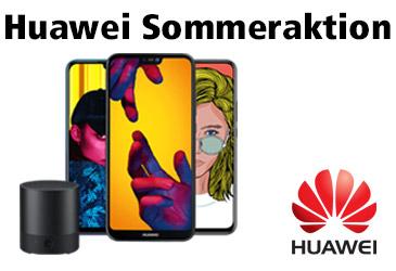 Huawei Sommeraktion: Gratis Mini Speaker für Ihre Kunden zum Huawei Smartphone