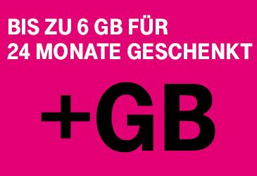 MagentMobil Tarife mit bis zu 6 GB mehr Datenvolumen