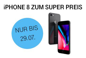 Telekom: iPhone 8 und viele weitere Modelle zum super Preis
