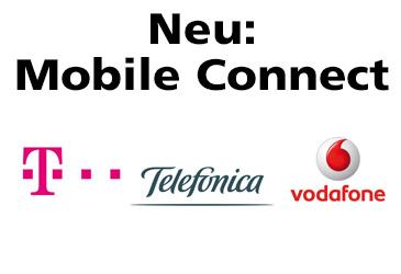 Mobile Connect: Gemeinsames Login-Verfahren von Telekom, Telefónica und Vodafone