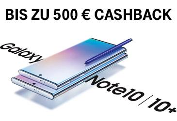 Samsung Galaxy Note10 vorbestellen - bis zu 500 € für das alte Smartphone
