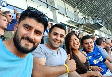 Mit MyStore zusammen beim ersten Heimspiel des SC Paderborn