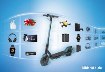 1&1 All-Net-Flats mit 120,- € Preisvorteil oder coolem Zusatzgerät für das Smartphone