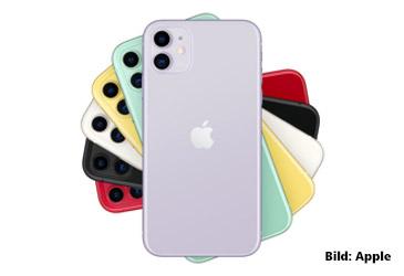Vorgestellt: Apple iPhone 11 in drei verschiedenen Versionen