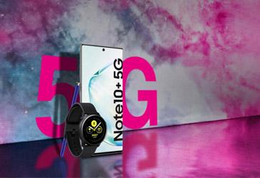 Samsung Galaxy Note10+ 5G im neuen MagentaMobil Tarif für 1,- €