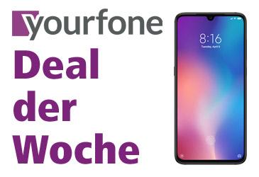 yourfone Deal der Woche: Xiaomi Mi 9 im LTE-Tarif