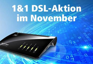 1&1 DSL-Tarife mit 240 € Preisvorteil oder WLAN-Gerät