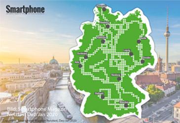 Telekom gewinnt Netztest - O2 ist Preis-Leistungssieger