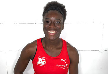 Start in die Leichtathletik-Saison 2020: Daumen drücken für Yasmin Kwadwo