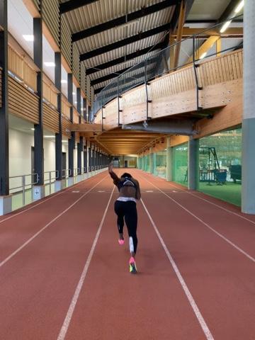 Yasmin Kwadwo Training