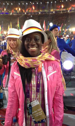 Yasmin Kwadwo Olympia 2012 London