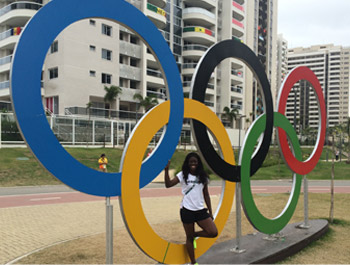 Yasmin Kwadwo Olympia 2016 Rio de Janeiro